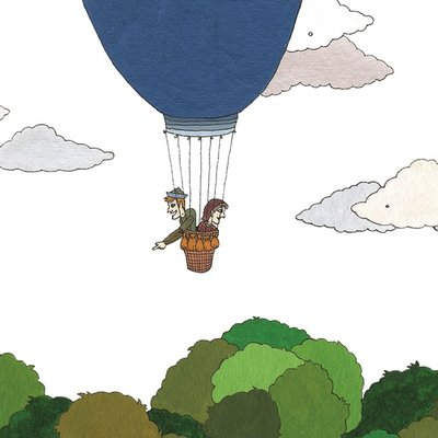 The air balloon