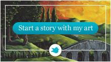 Start a storybird with my art
