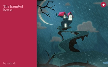 The haunted house by debrathomas on Storybird