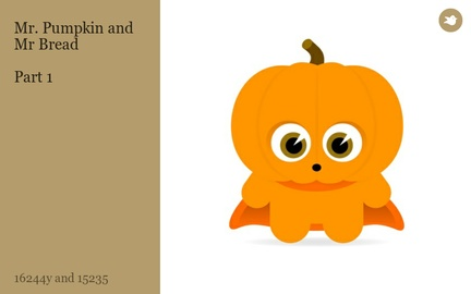 Mr. Pumpkin and Mr Bread  Part 1