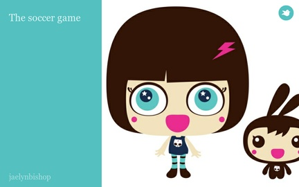 The soccer game by jaelynbishop on Storybird