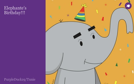 Elephante's Birthday!!!