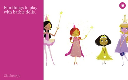 Fun things to play with barbie dolls.