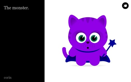 The monster. by corinhernandez on Storybird