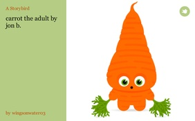 carrot the adult           by jon b.