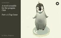 A word scramble for the penguin Club  Part 1 A Tag Game