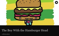 The Boy With the Hamburger Head
