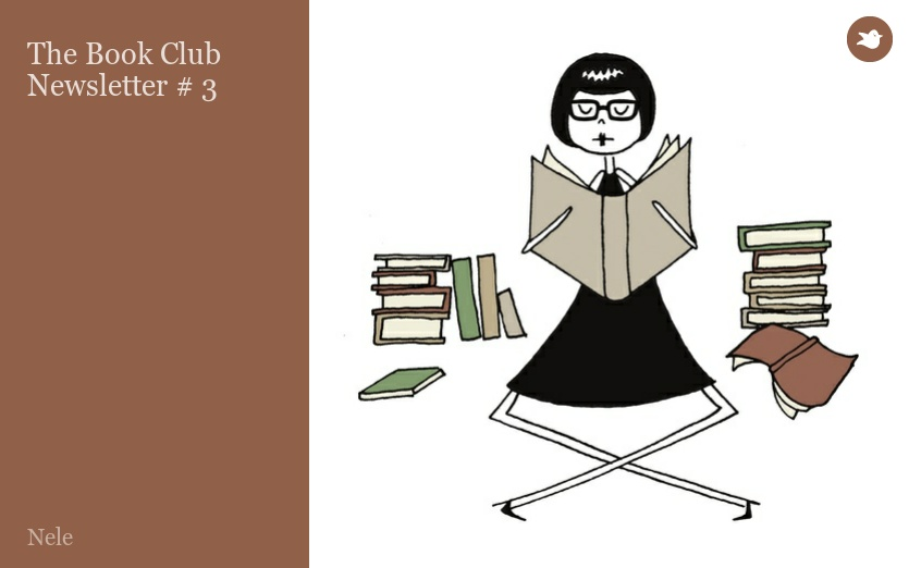 The Book Club Newsletter # 3