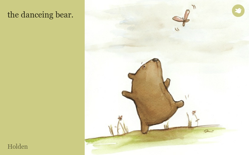 the danceing bear.