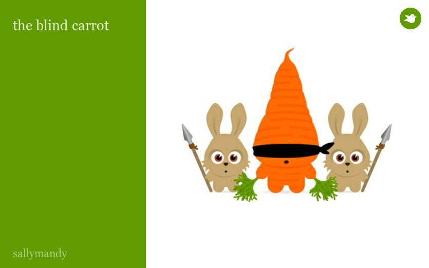 the blind carrot