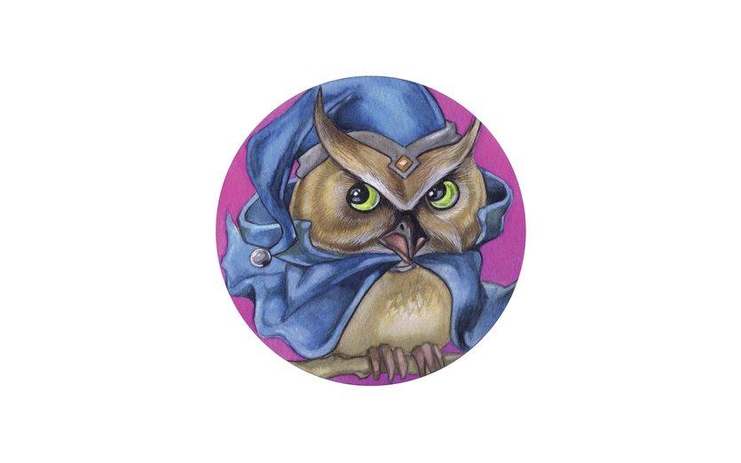 - bird, cute, magic, magical, owl, wise, wizard
