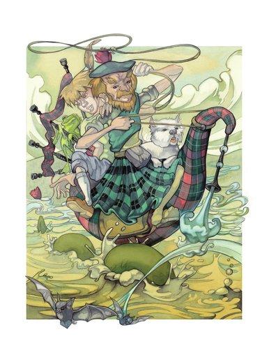 Scottish character