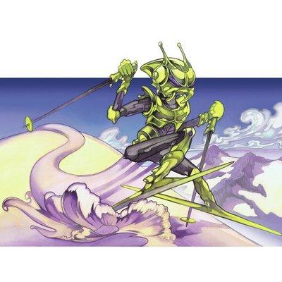 Skiing Robot