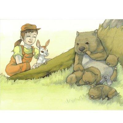 Wombat Family
