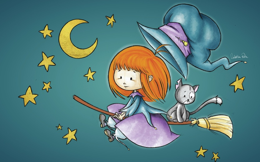 - adorable, adorbs, animal, big, blue, broom, broomstick