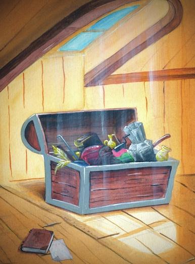 Trunk in the attic