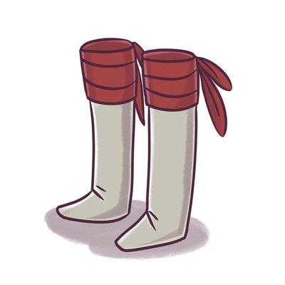 Adventuring boots