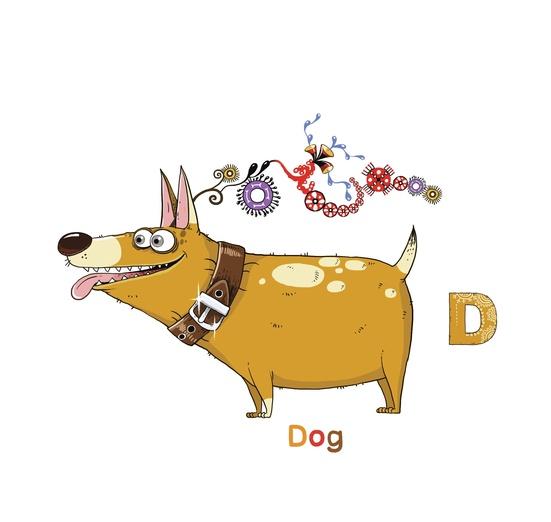 - adorable, adorbs, alphabet, brown, cartoon, cartoony, character