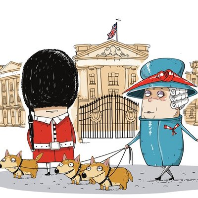 Dogs, fairies and the Queen