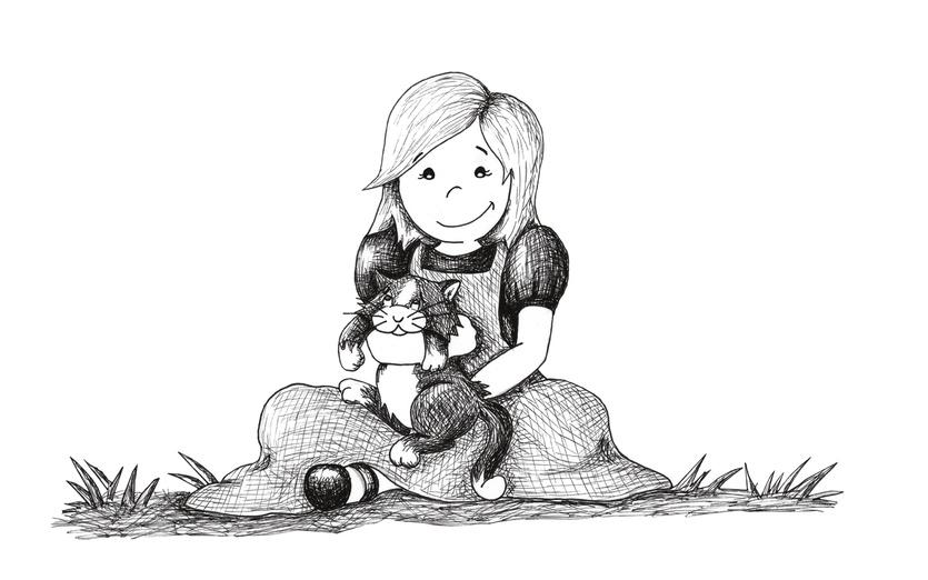 - adorable, adorbs, affection, animal, black, cartoon, cartoony