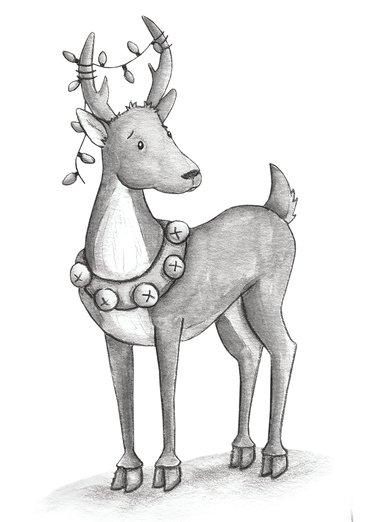 - animals, christmas, deer, holidays, reindeer
