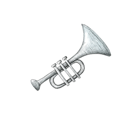 - black, detail, detailed, grey, horn, music, musical