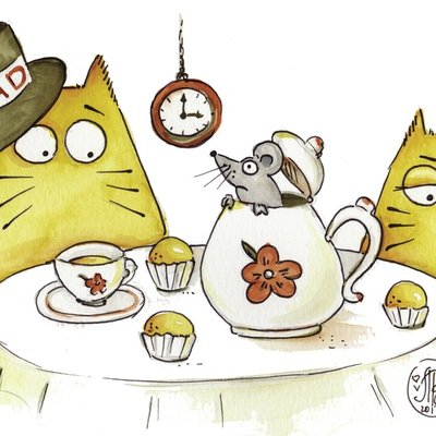 Mad Cat tea party