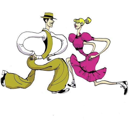 - couple, dance, dancing, folk, man, vintage, woman