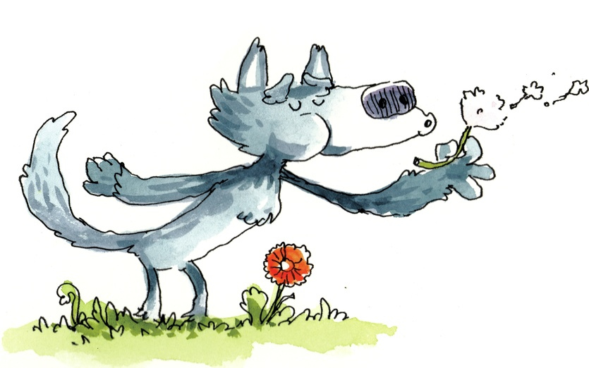 Wolf Blowing By CABINET OF CURIOSITIES On Storybird