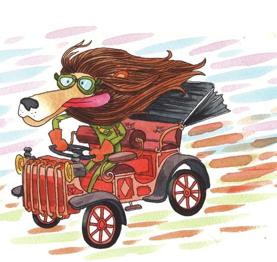 - action, adorable, adorbs, adventurous, animal, brown, car