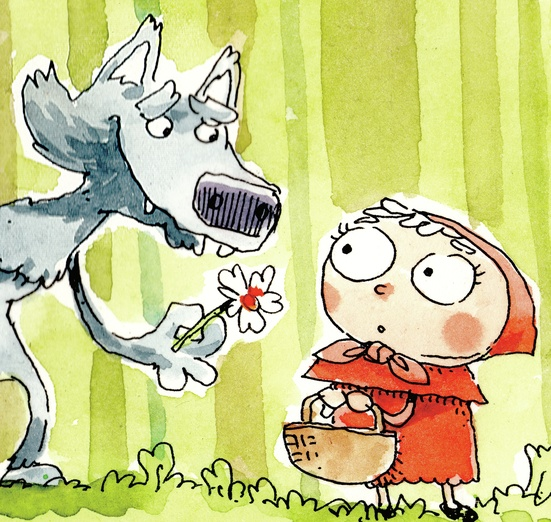 little red riding hood the wolfs side of the story by  cover little red riding hood
