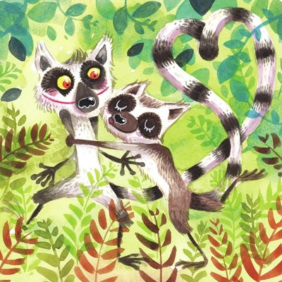 Lemurs in love