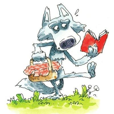 wolf reading 2