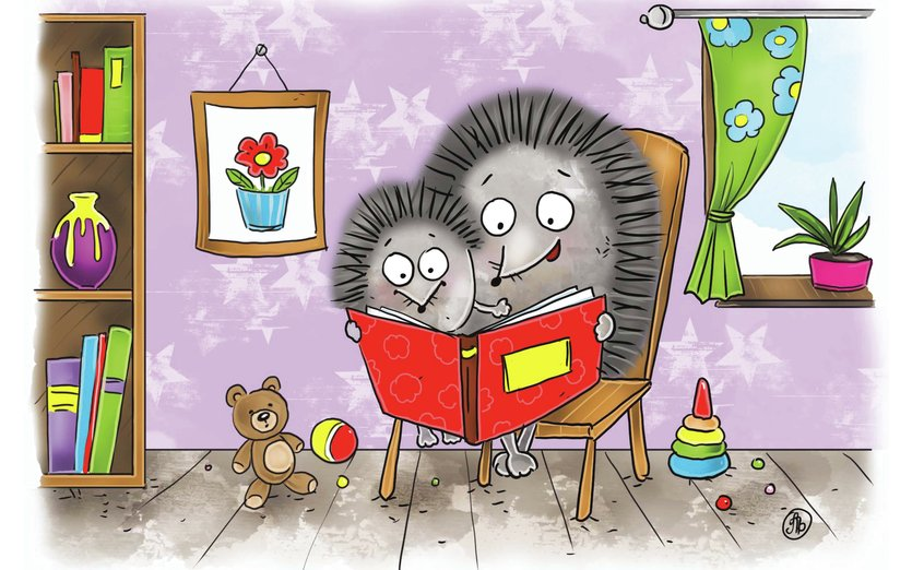 - animals, book, funny, games, hedgehog, house, kids