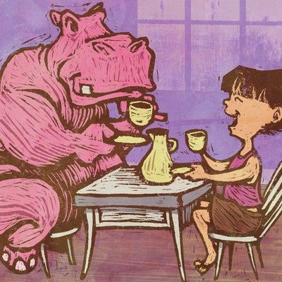 Afternoon Tea with Miss Hippo
