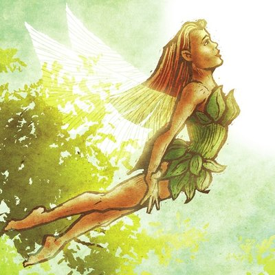 Fairy Flying - Day