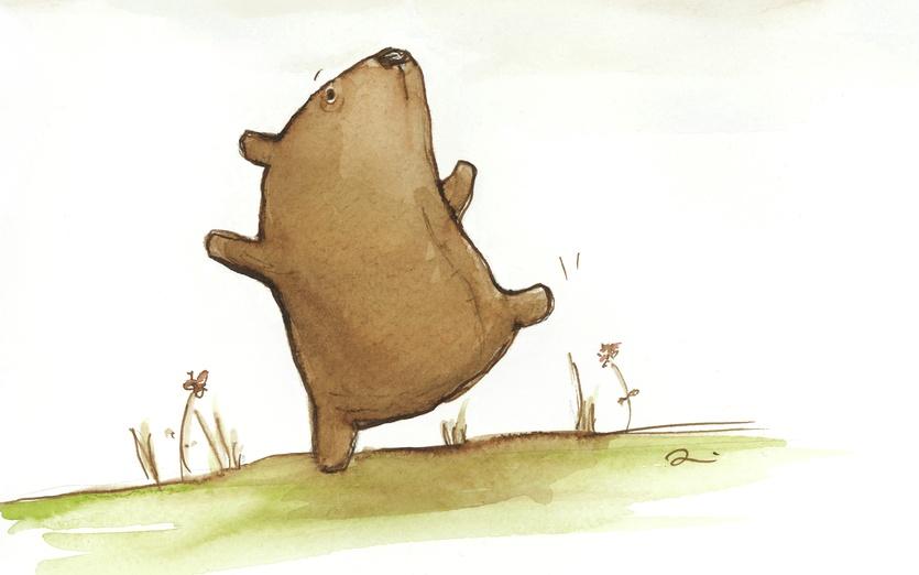 - animal, aspire, balance, balancing, bear, beige, butterfly