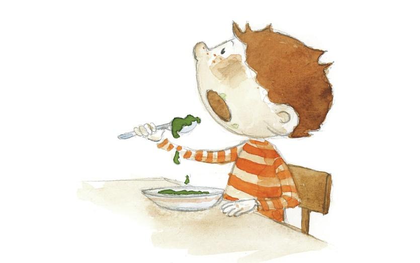 - adorable, beige, boy, brave, breakfast, brown, cartoon