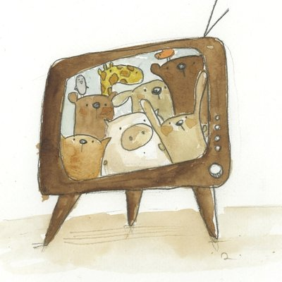 In the telly