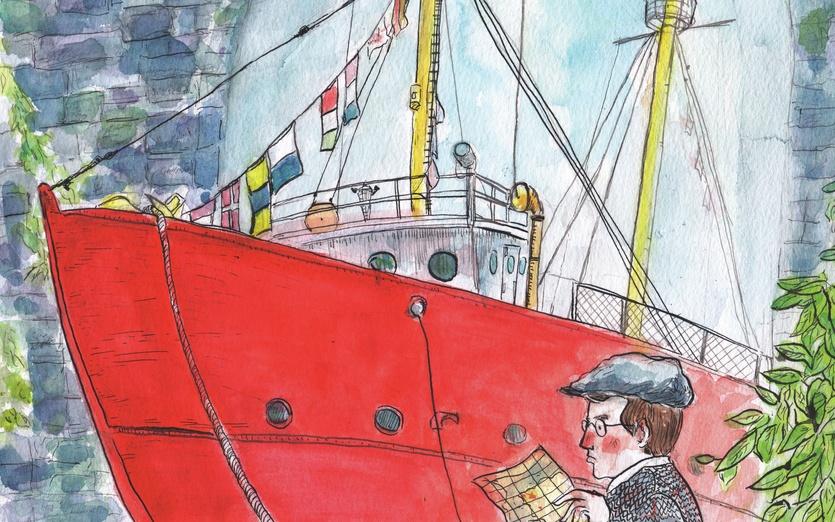 - adventure, boat, boy, bricks, colored, colorful, colors