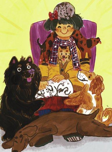 Doggy Throne