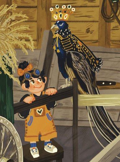 Peafowl King