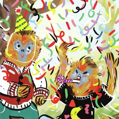 Monkey Celebration