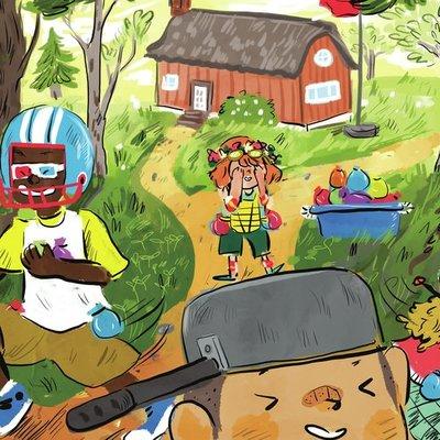 Summer Camp Balloon fight