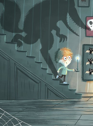Haunted Wolf House By Jevs Illustration On Storybird
