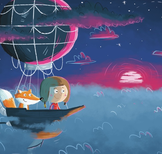 - adorable, adventure, animal, art, balloon, blue, boy