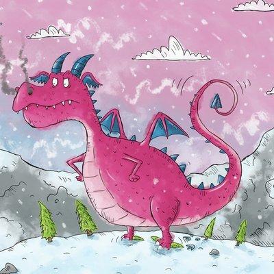 A Viking Boy Meets a Grumpy Dragon