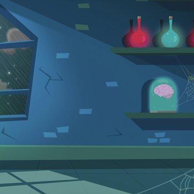 Scientist Lair Background
