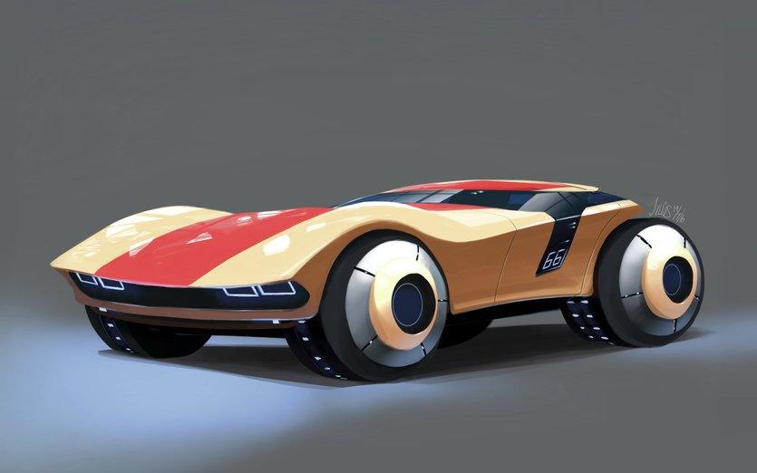 A Car From The Future By Julius Tan On Storybird