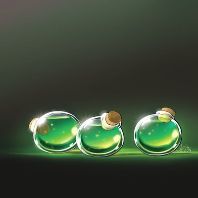 Emerald potion